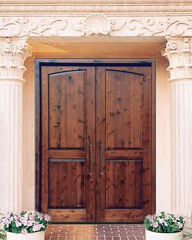 & Solid Wood Doors | High End Double Doors | Custom Entry Doors