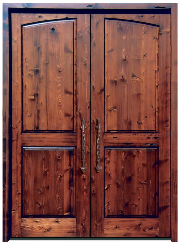 Solid Wood Doors High End Double Doors Custom Entry Doors
