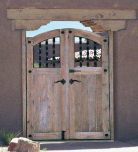 Wooden Gates - Castillo de San Pedro de la Roca - 4344GG