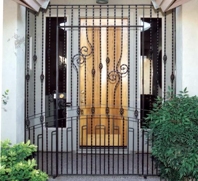 Iron Gate - Castello di Lombardia 13th Cen Italy - 6007WI