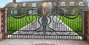 Estate Gate - Iron Gates 13th Cen France - 1351WI