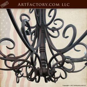 custom Spanish chandelier