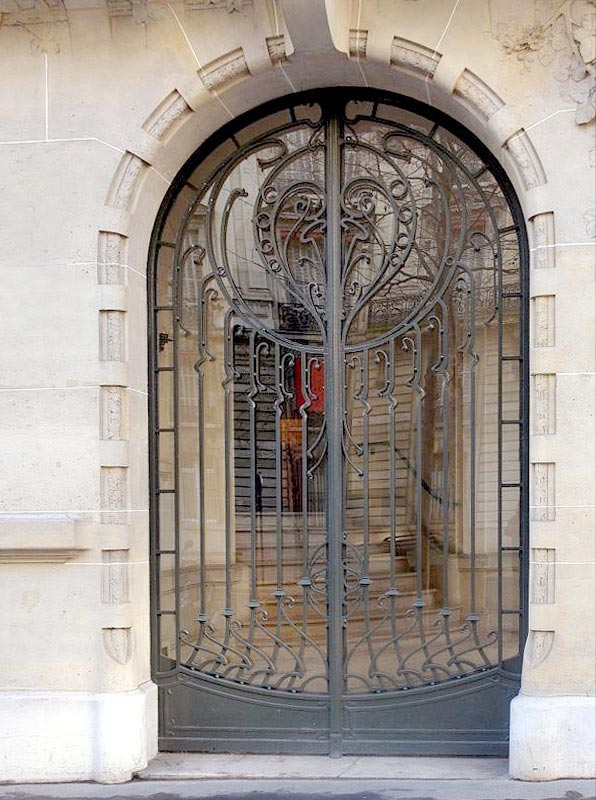 Castle Gate Courtyard Gate Wrought Iron Gates