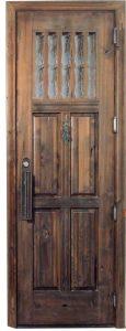 Custom Entry Door - Castle of Laken Style 18th Century - 4372ST