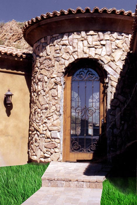 Entry Door -  Castello di Compiano 12th Cen Italy - 5002WI
