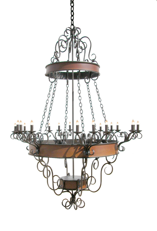 Chandelier - Lighting Designed From Antiquity -  LC0912A