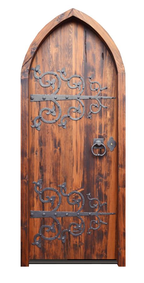 Custom Gothic Arched Door
