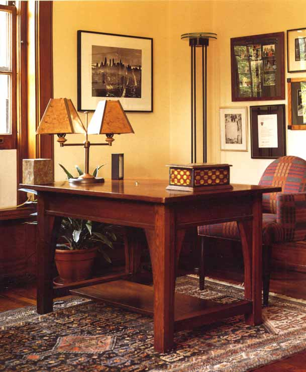 Craftsman Desk - From Greene And Greene Archives -  CRT870