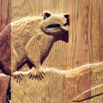 Door - Carved Oak Tree With Wildlife- 2336HC