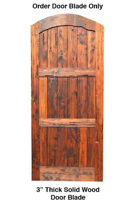 Arched Entry Door Castle Doors Exterior Doors