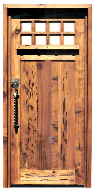 Craftsman Wood Doors | Greene & Greene Solid Wood Doors | Craftsman ...