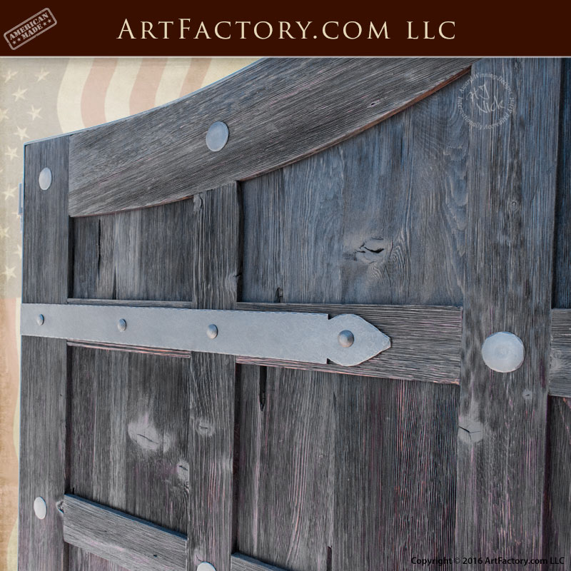 Custom Made Driveway Gates Antique Panels Solid Iron