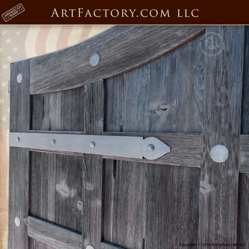 Custom Made Driveway Gates Antique Panels Solid Iron