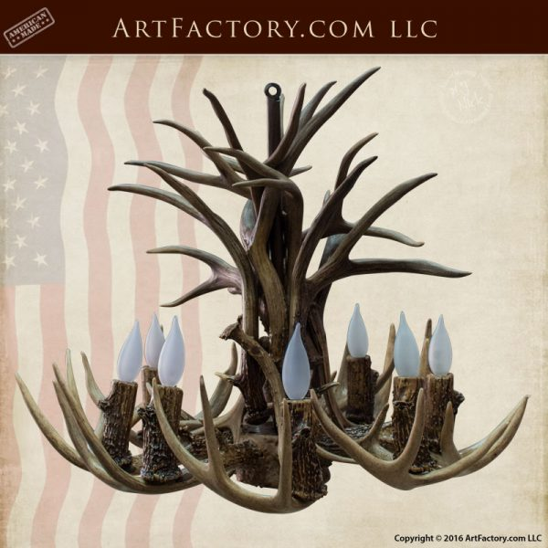 Fine Art Antler Chandelier - Hand Made Chandeliers - LCA54