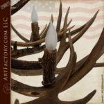 Elk Antler Chandelier - Lighting Custom Made - EAC100
