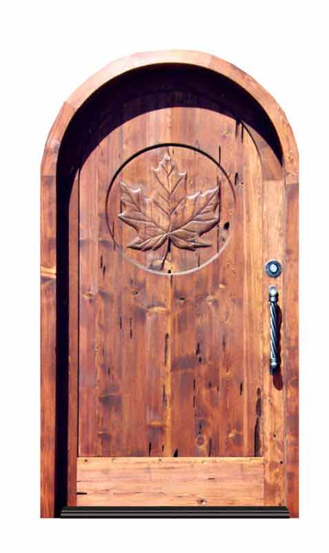 Previous  sc 1 st  Scottsdale Art Factory & Hand Carved Maple Leaf Door | Custom Castle Entry Doors | Hand ...