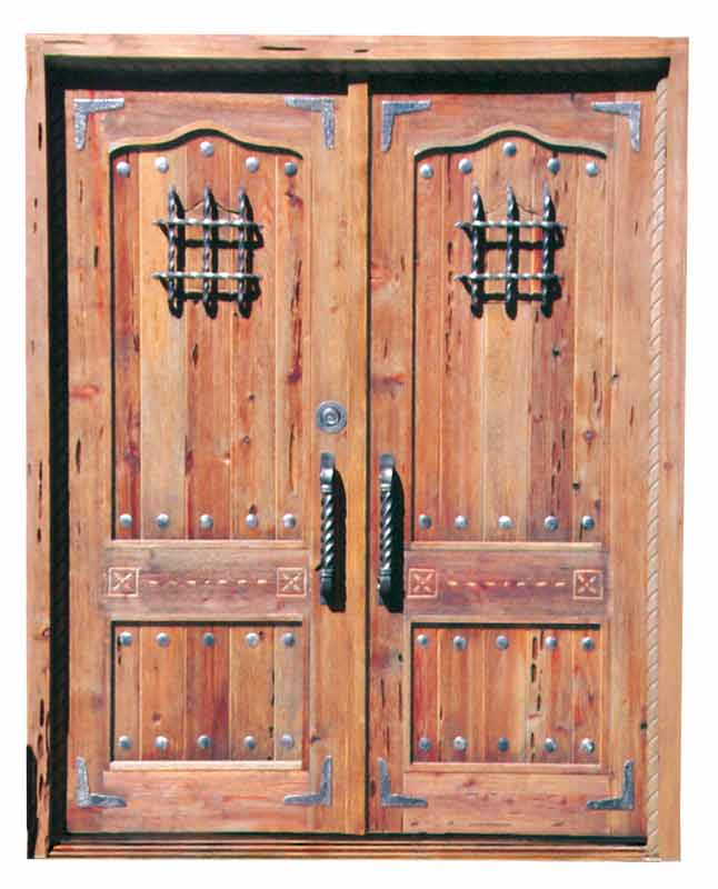Entry doors french solid wood doors high end doors with for High end exterior doors