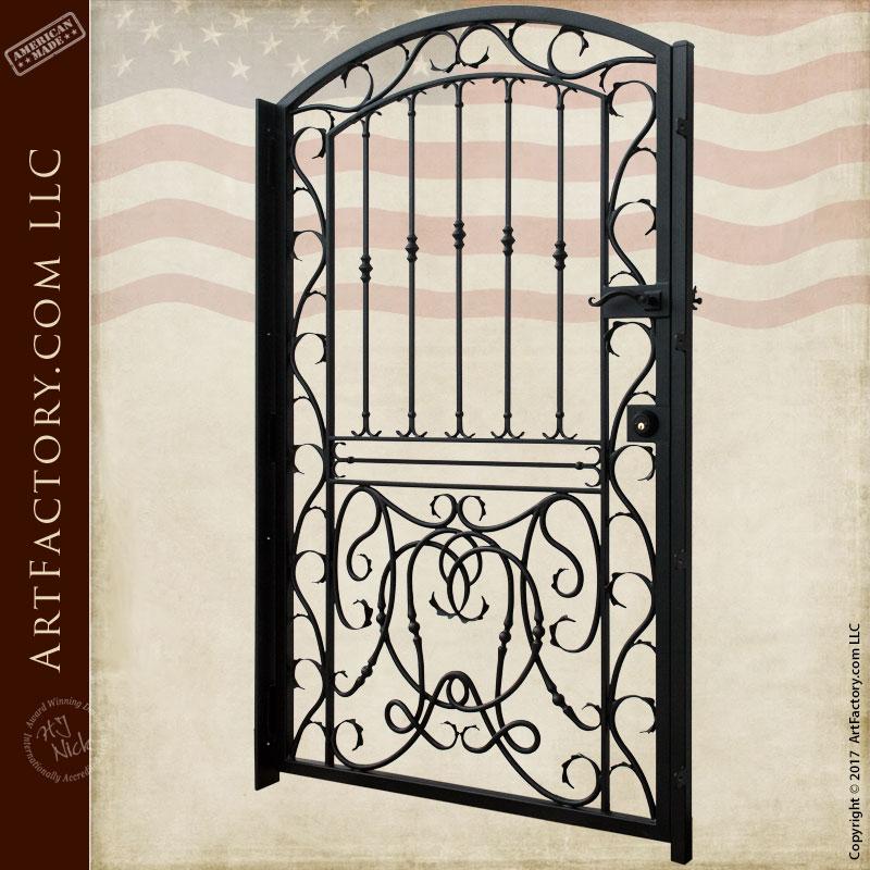 Home Design Gate Ideas: High Quality Wrought Iron Gates