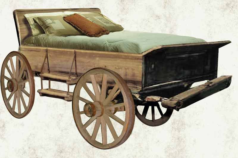 - Wagon Bed - Antique Western Wagon Beds