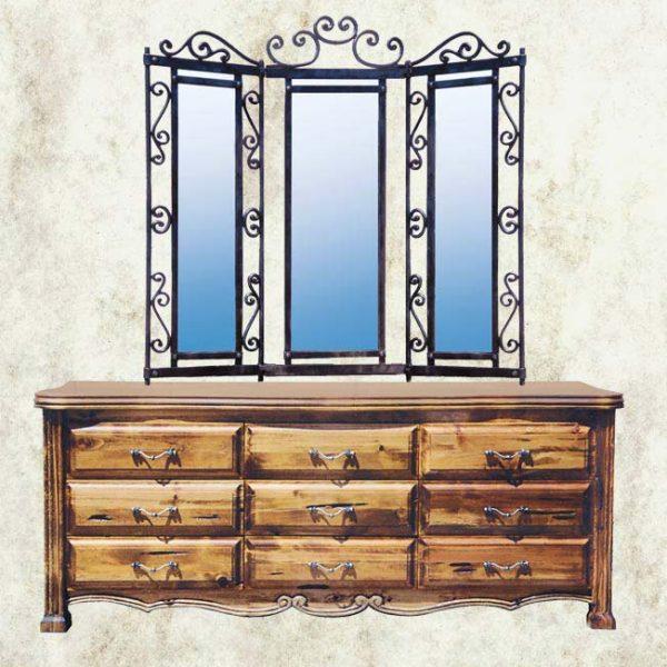 Dresser - French Dresser With Mirror - CFBS306