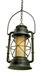 49er Lantern Chandelier- Western Gold Rush - LC717