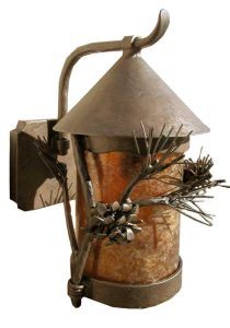 Wall Sconce -  Chateau de Foix - And Natural Forest - LS748