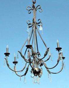 Genuine Waterford Crystal Chandelier- Halton Castle Style LC917