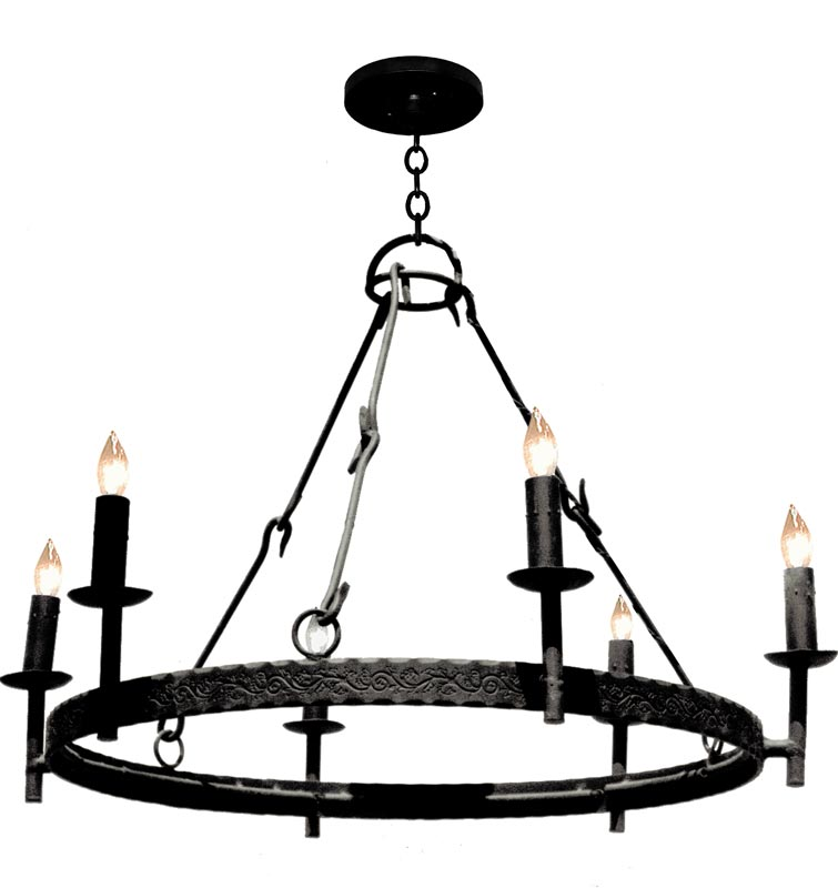Chandelier - Medieval Classic - Rougemont Castle Style - LC517