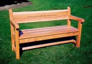 Bench - Hand Carved Bench - SFB768