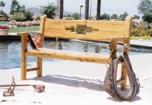 Bench - Wood South Western Bench - SWB183