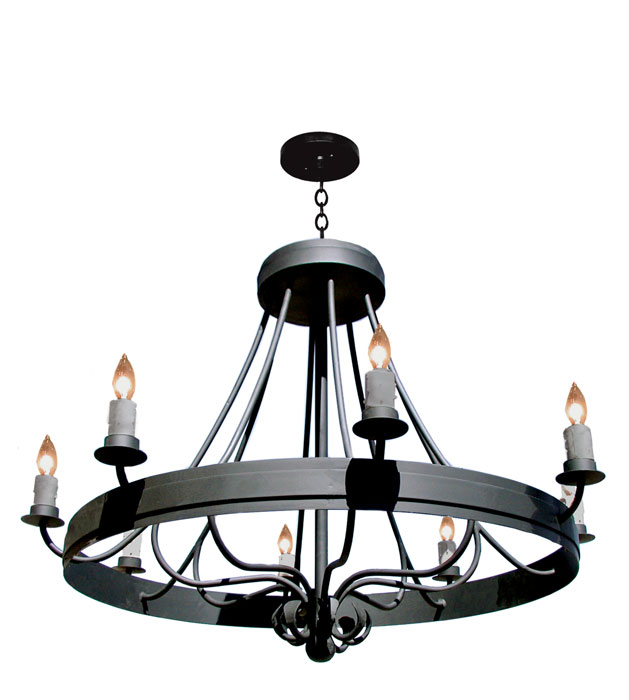 Wrought Iron Chandelier Antique French Design Lc509a