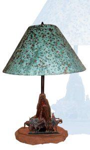 Western Table Lamp - LT602