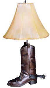 Table Lamp - Cowboy Boot Fine Art - LT610
