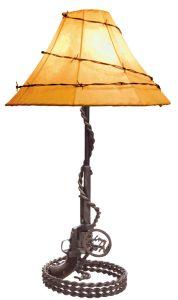 Colt 45 Lamp -  Western Lamp America 1860 - LT612