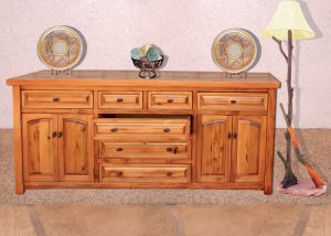 Dining  Buffet - Sideboard With Drawers - CFH386B