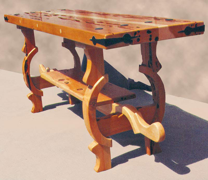 Coffee Table - Oxen Yolk Or New Arts And Crafts -  SPLT407
