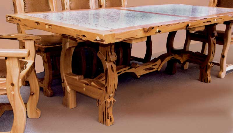 Dining table room sets western style tables