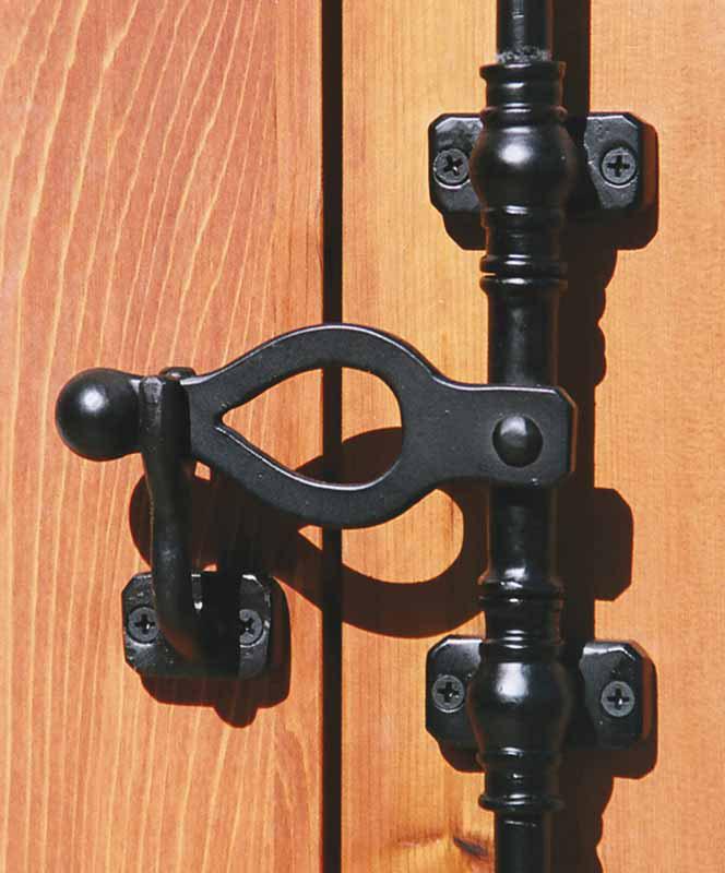 Window Security Bar Latch
