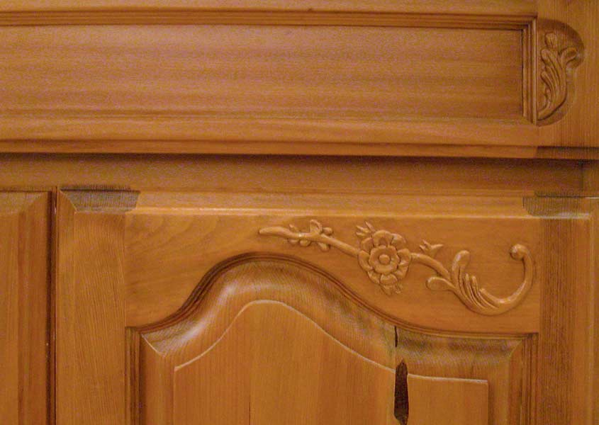 Hand Carved Kitchen Cabinet Wet Bar Kit964 Artfactory Com