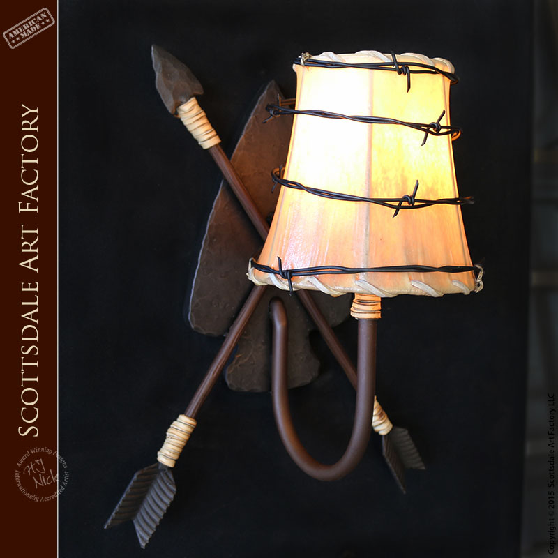 Frontier Style Iron Lighting Lamps