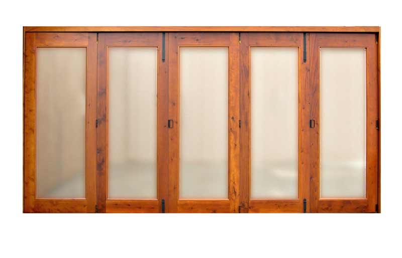Glass Bi-Fold Doors | Custom Bi-Fold Doors | Solid Wood Doors ...