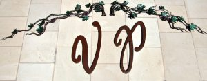 Vinyard Gate Statement Art -Our Quality Is In The Details -HH035