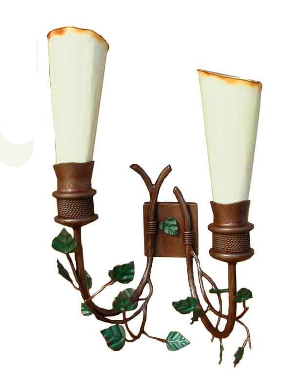 Vine Sconces- North American Ivy Inspired - LS832