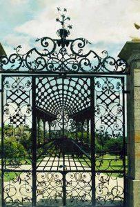 Entrance Gate - Bamburg Castle 18th century England - 1217IG